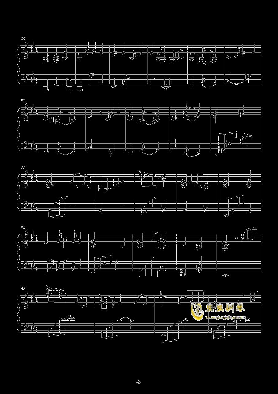 春の�L钢琴谱 第2页