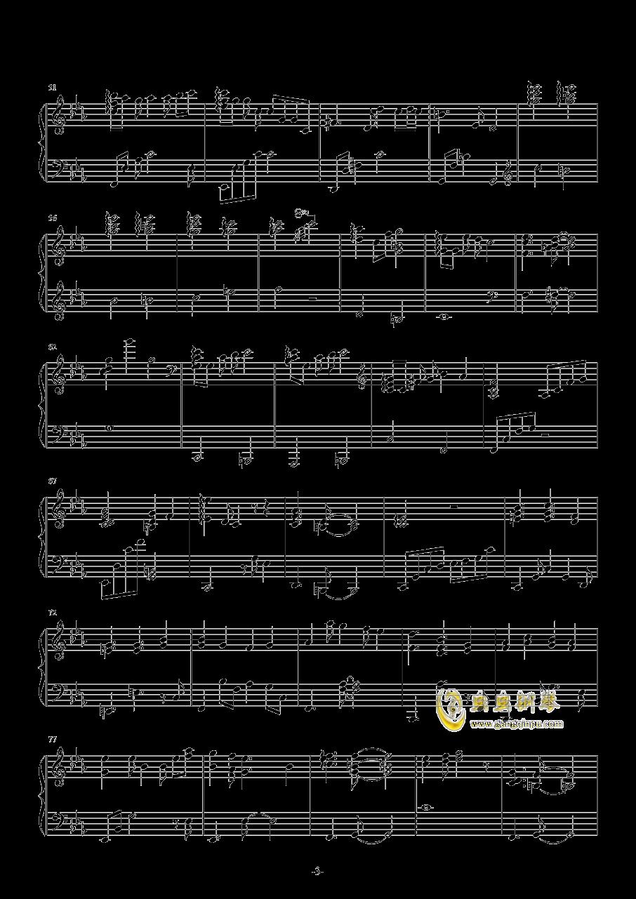 春の�L钢琴谱 第3页