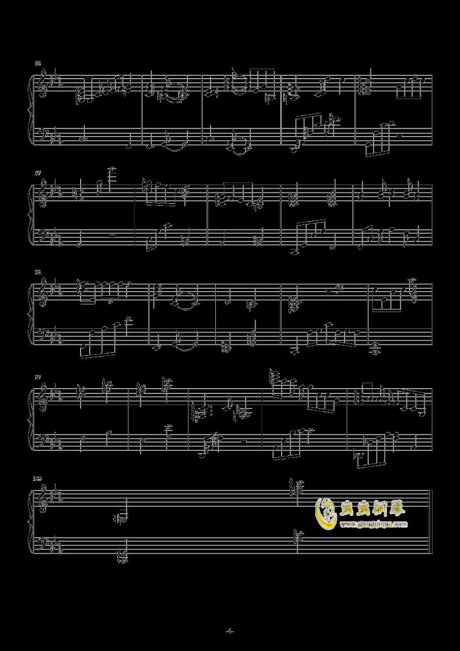 春の�L钢琴谱 第4页