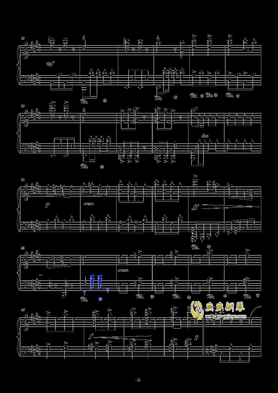闲聊波尔卡钢琴谱 第2页