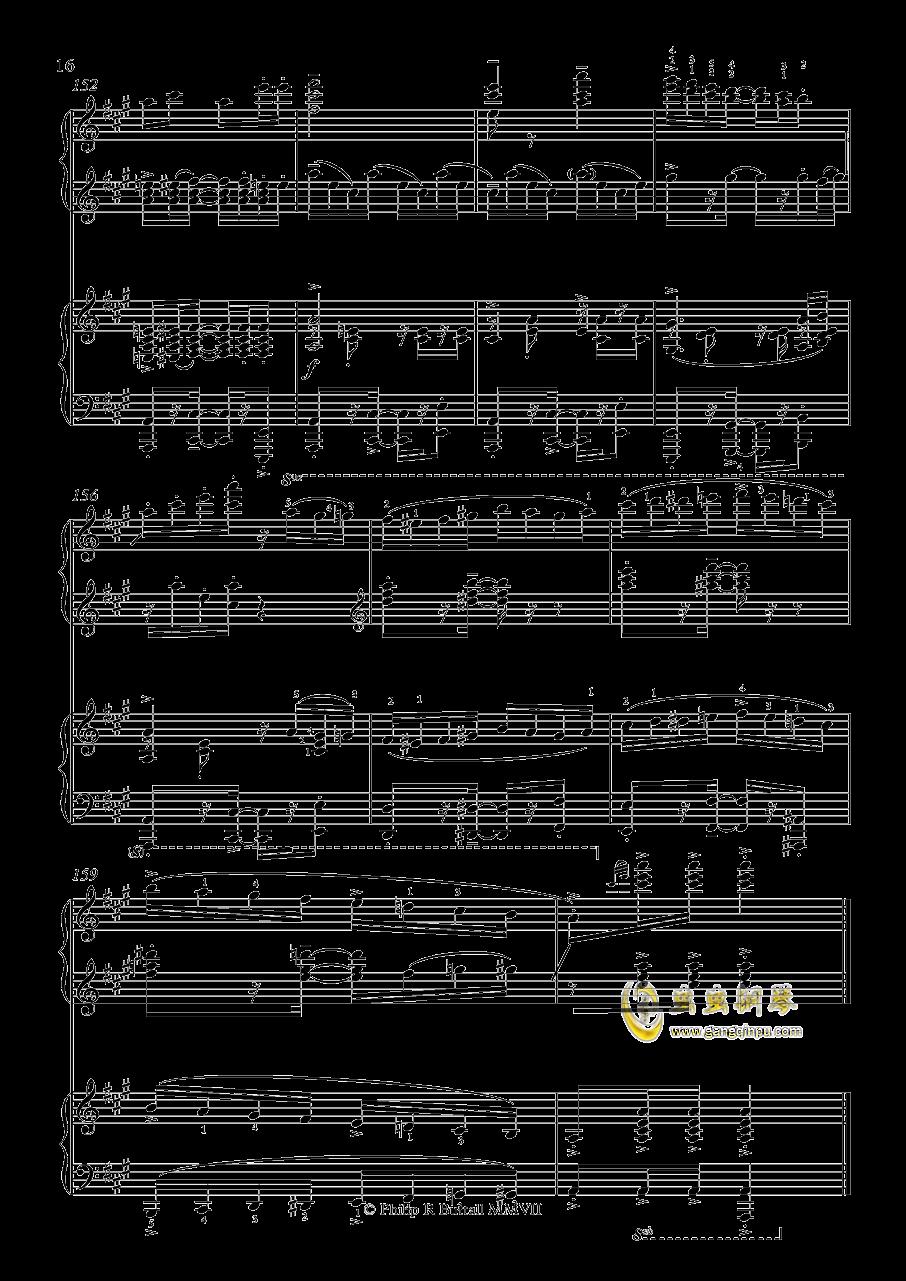 土耳其进行曲钢琴谱 第16页