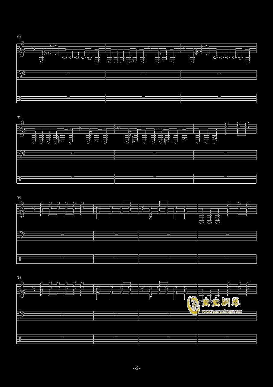 花开花落钢琴谱 第6页