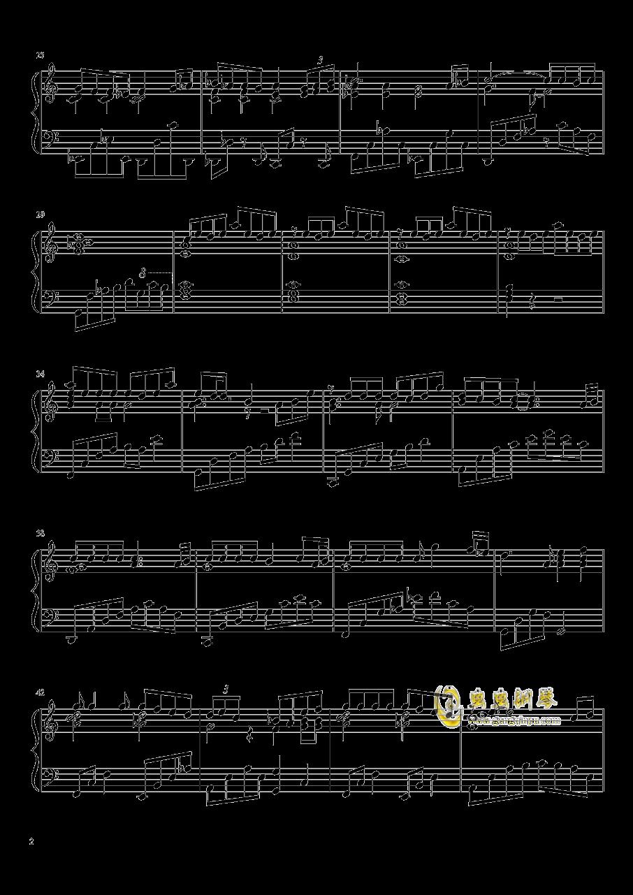 生命之名钢琴谱 第2页