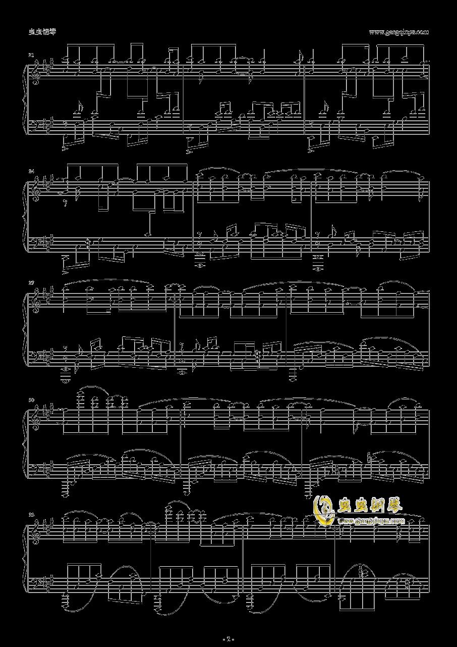 OP1―GravityWall钢琴谱 第2页