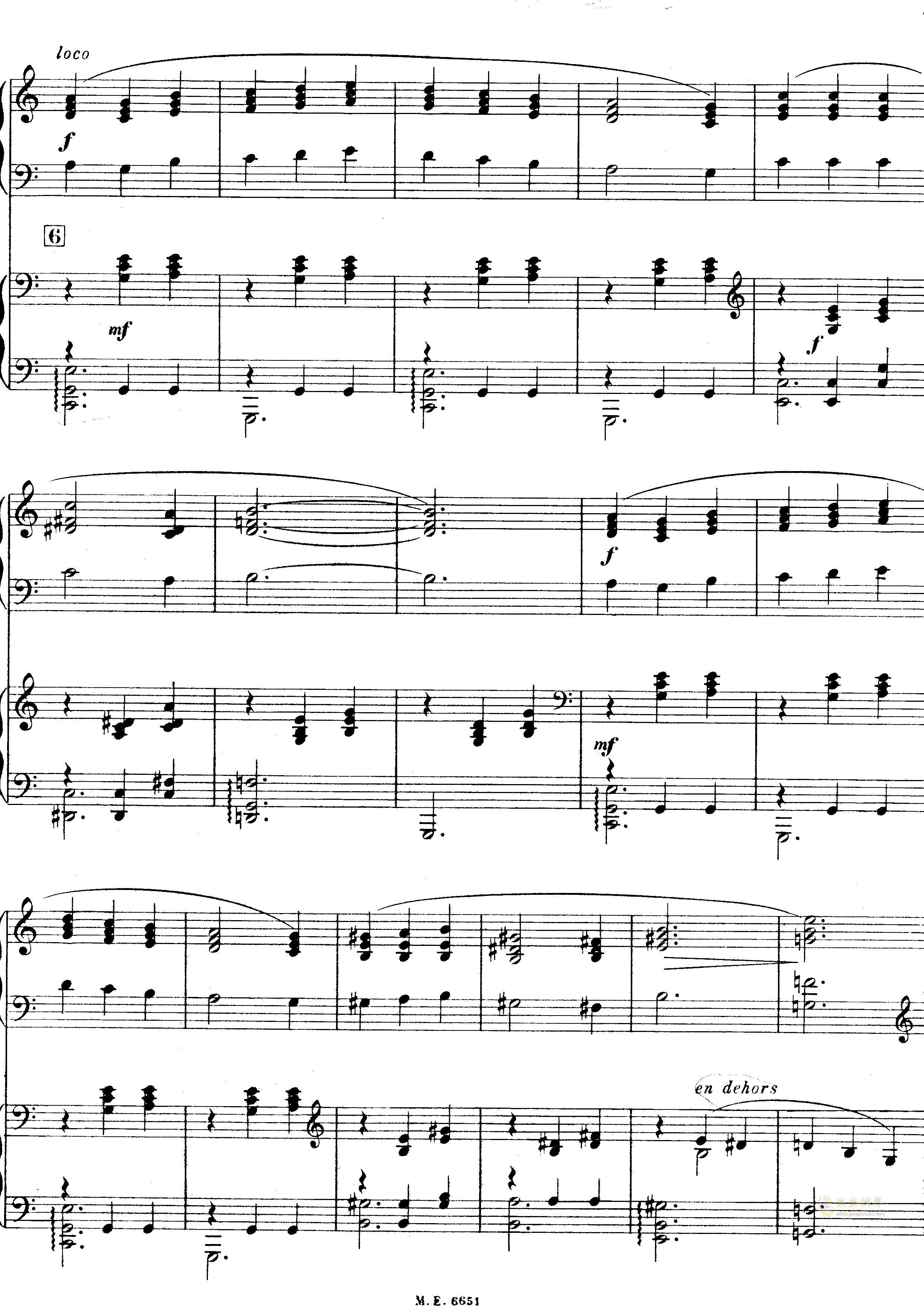 出航到西特尔钢琴谱 第7页