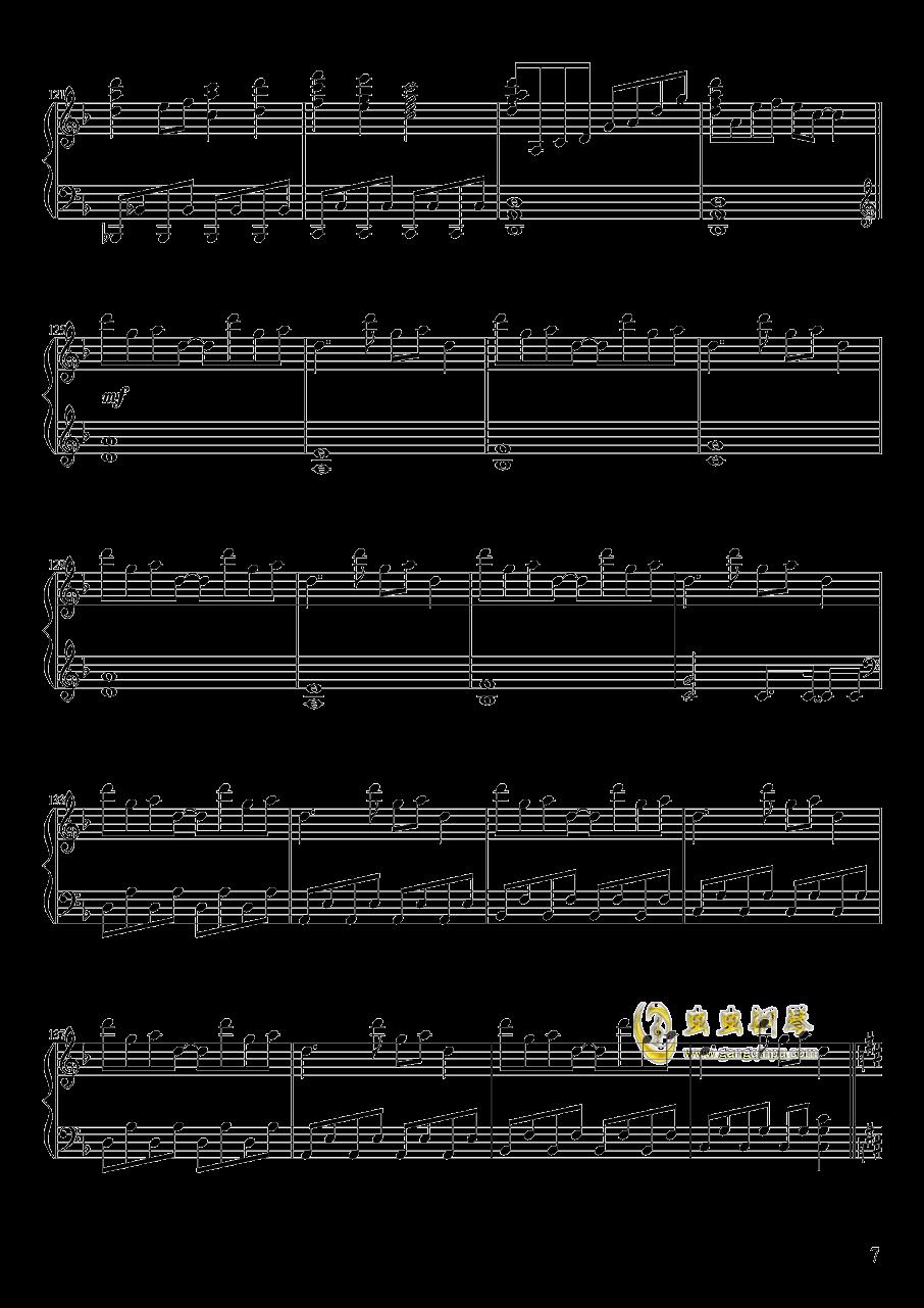 心の在�I钢琴谱 第7页