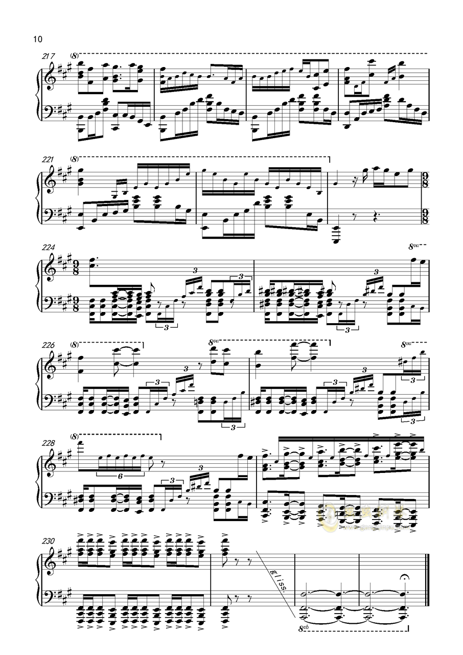 鲁班七号英雄主题曲)钢琴谱双手简谱钢琴简谱- 豆丁网