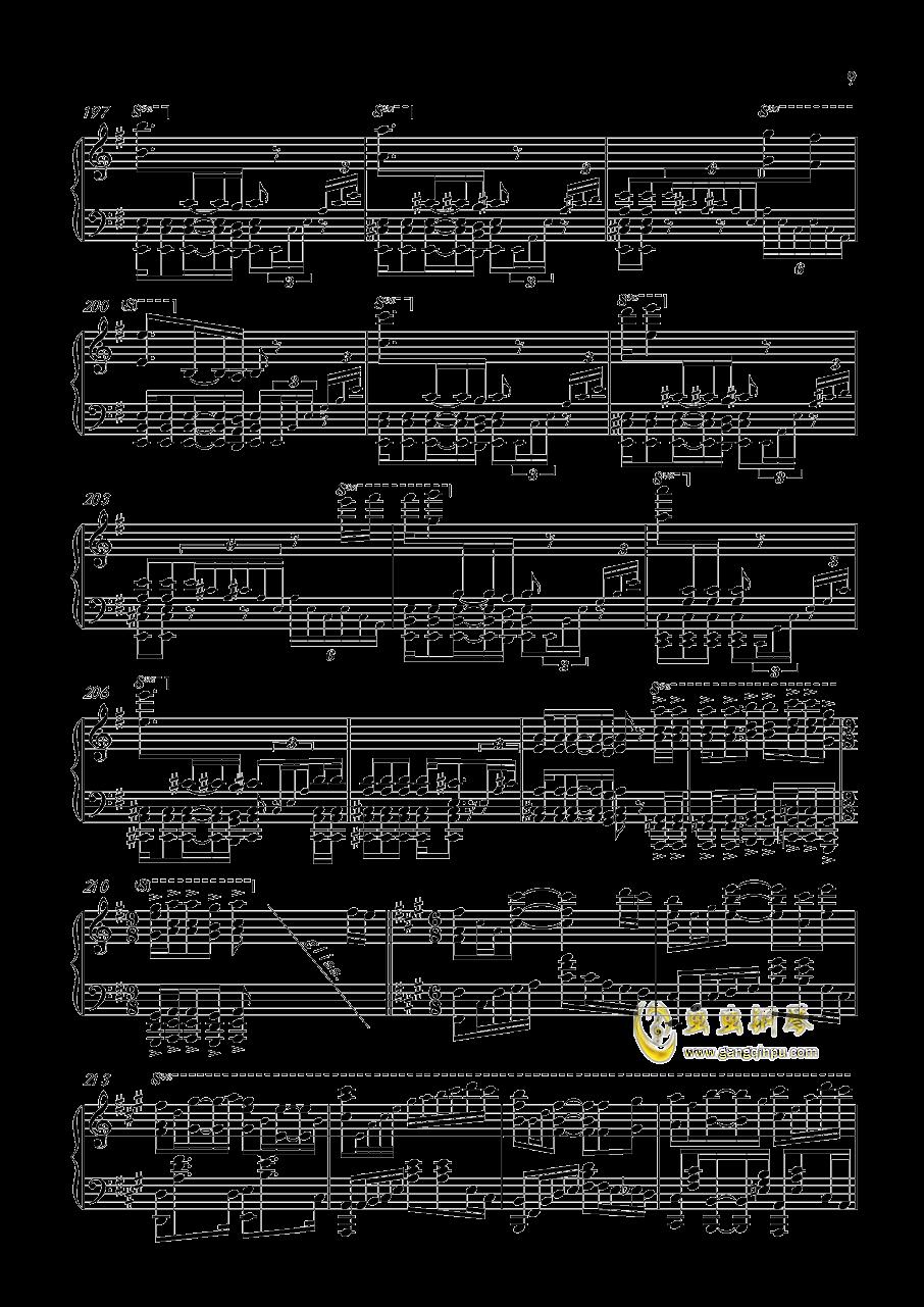 王者荣耀钢琴谱_Bb调独奏谱_王者荣耀_钢琴独奏视频_原版钢琴...