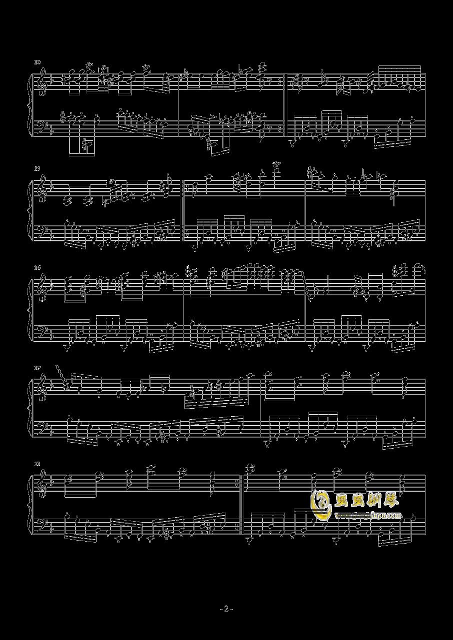 蛙蛤蛤钢琴谱 第2页