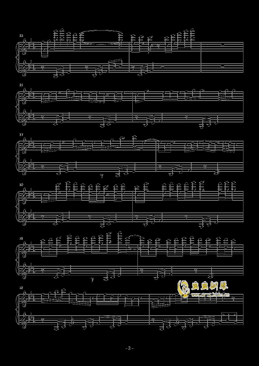 �流れ钢琴谱 第2页