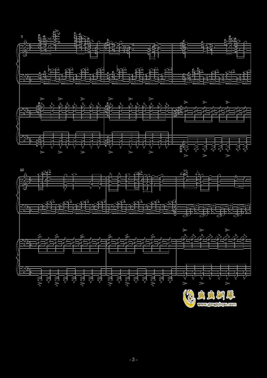小温狂想曲 2.21钢琴谱 第2页
