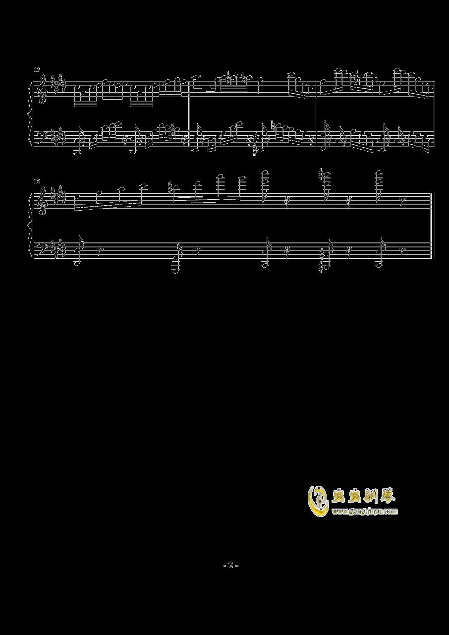Parodia Sonatia钢琴谱 第2页