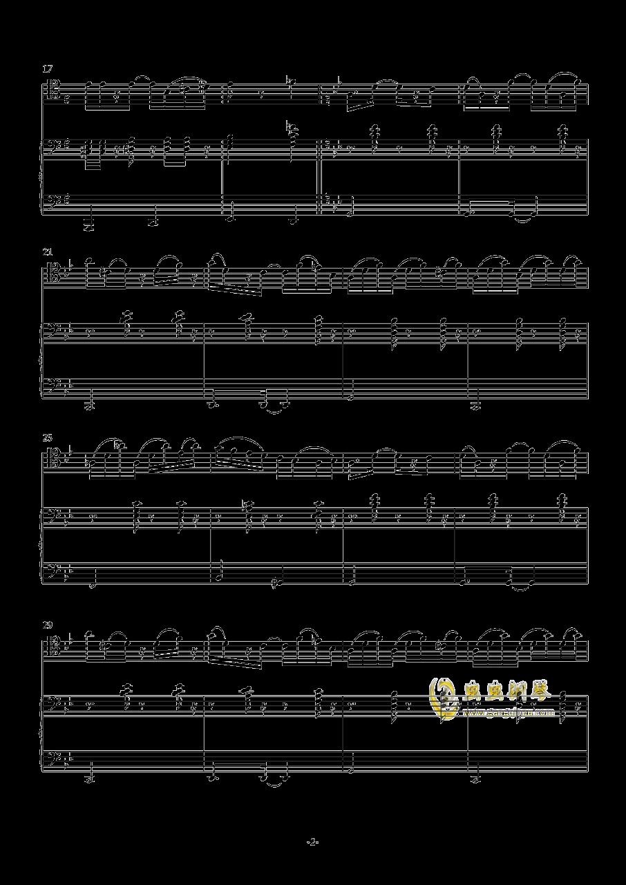 炒冷饭钢琴谱 第2页
