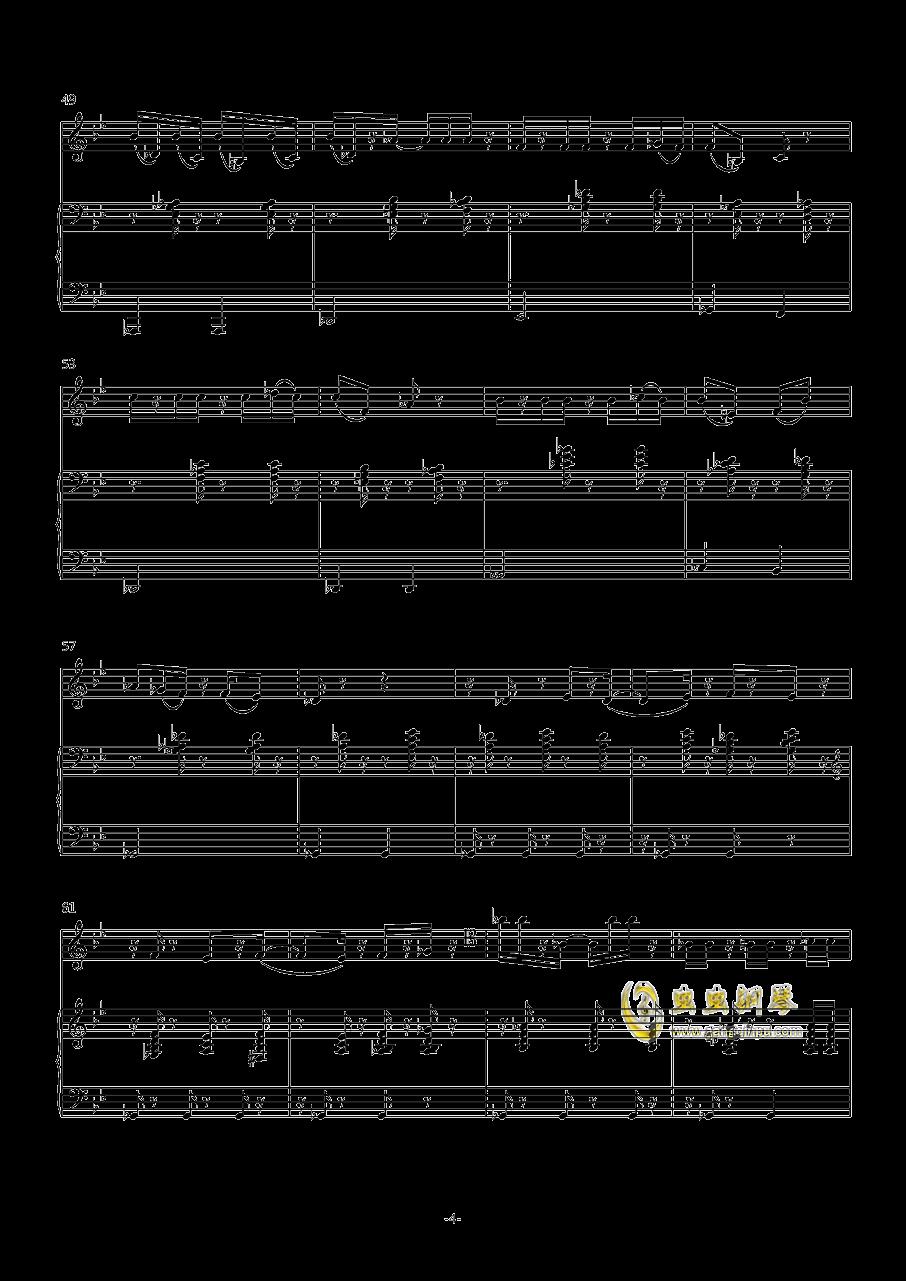 炒冷饭钢琴谱 第4页
