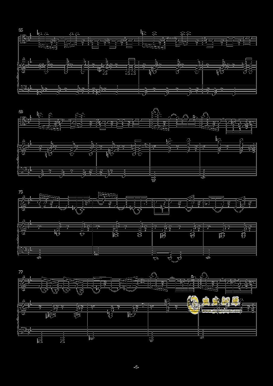 炒冷饭钢琴谱 第5页