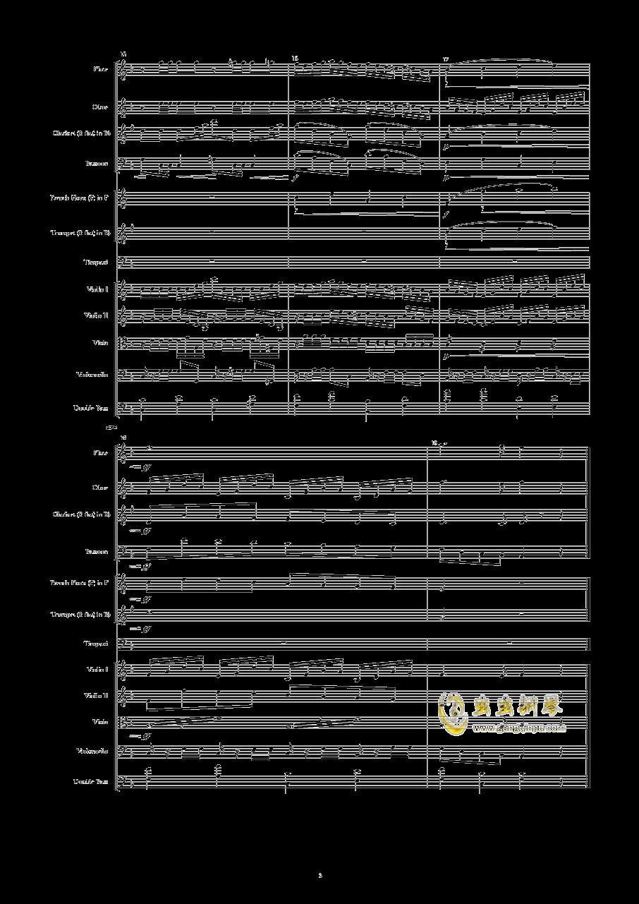 Dorico 初试钢琴谱 第3页