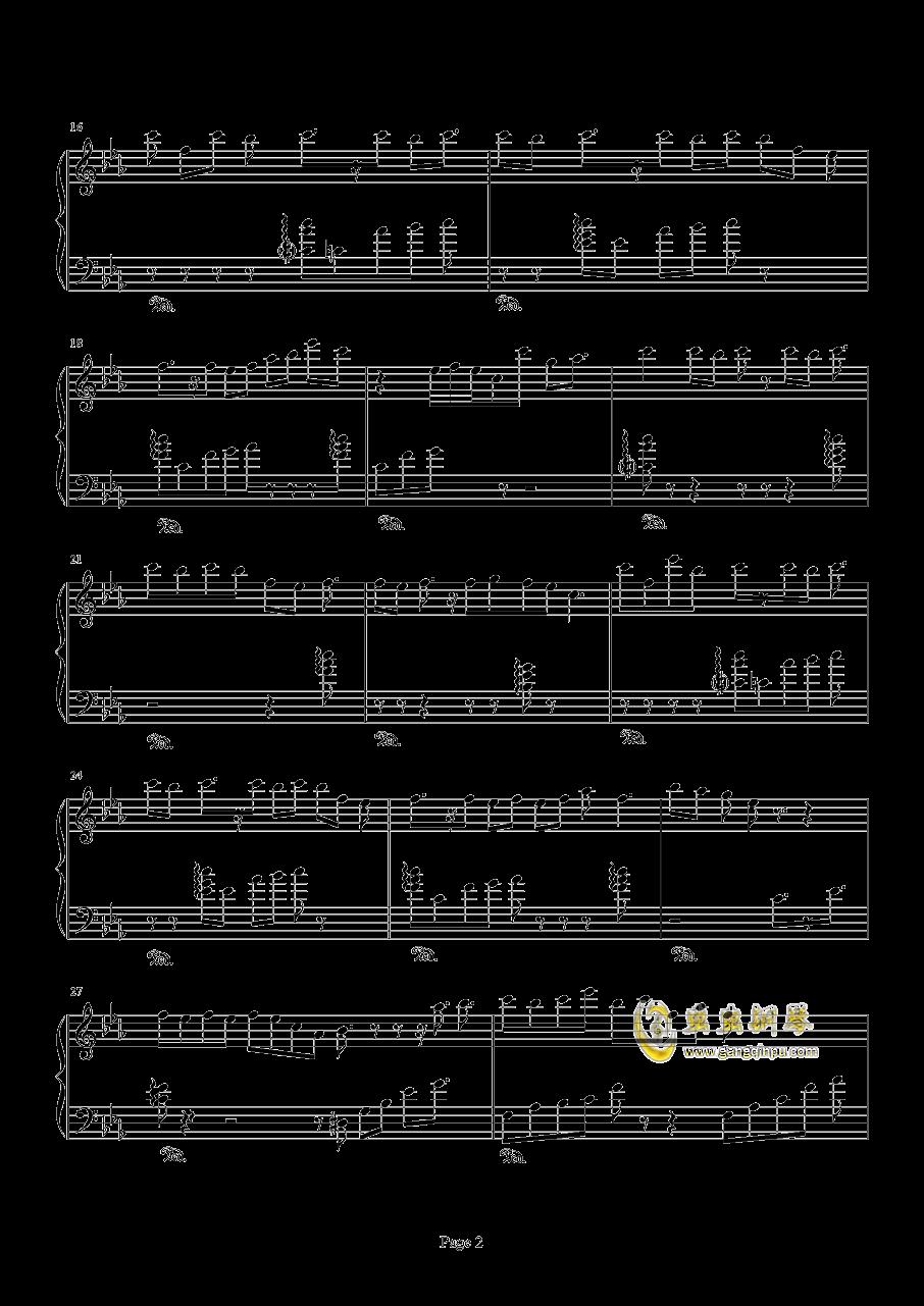 天地缓缓钢琴谱 第2页