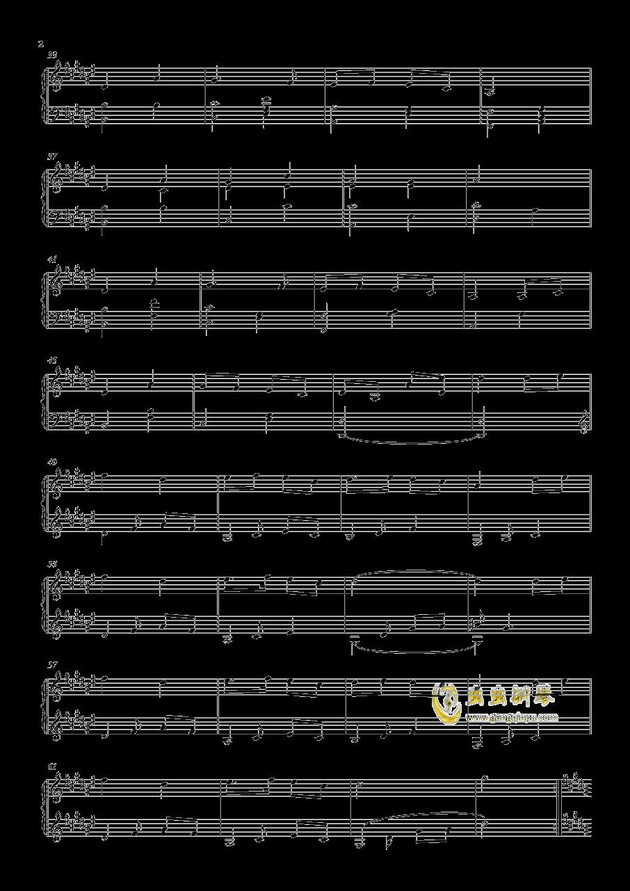 萤火虫之舞,萤火虫之舞钢琴谱,萤火虫之舞钢琴谱网,萤火虫之舞
