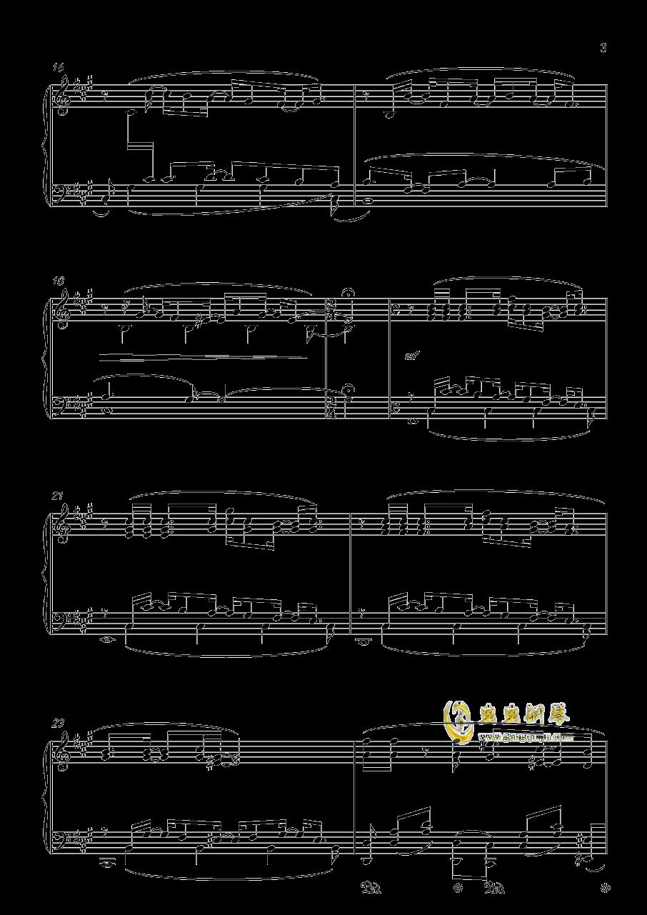 �S�@の扉钢琴谱 第3页