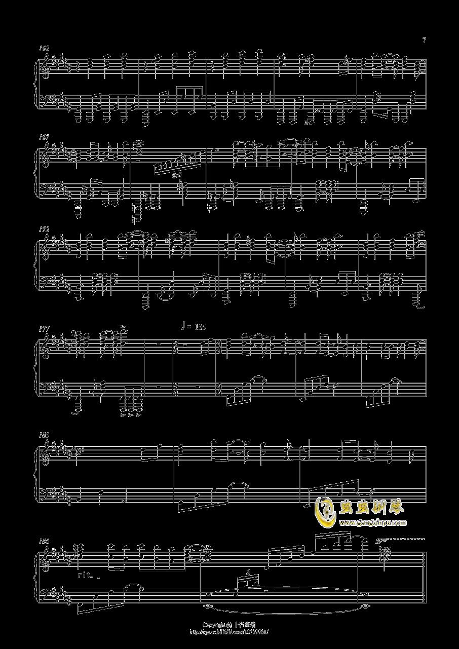 从终焉的世界开始钢琴谱 第7页
