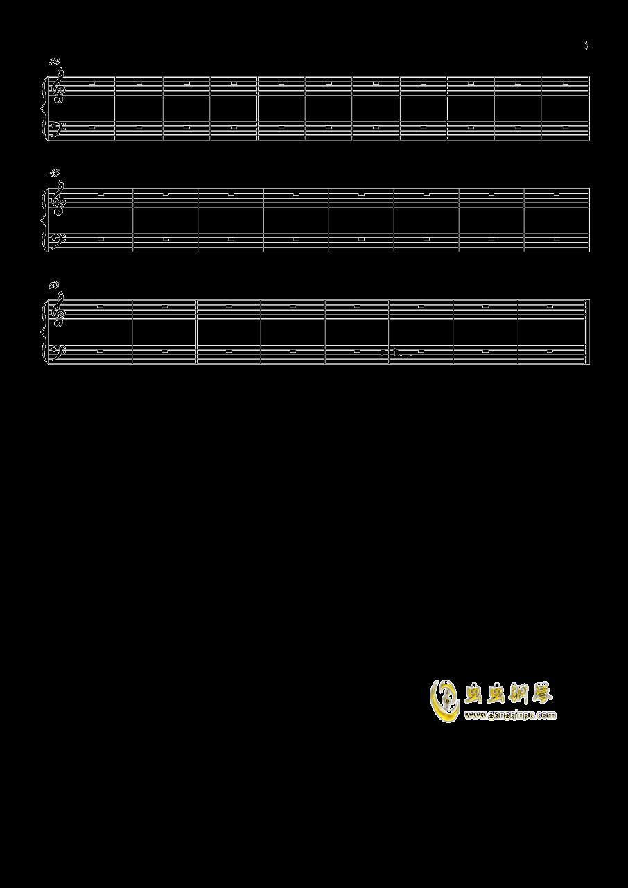 一只小小的变奏曲钢琴谱 第3页