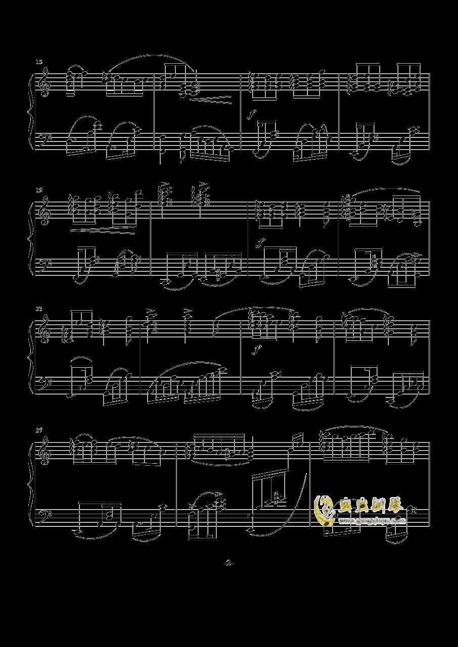 For Joel钢琴谱 第2页