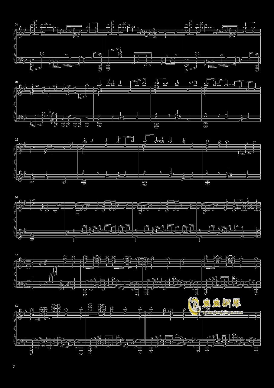 Unravel钢琴谱 第2页
