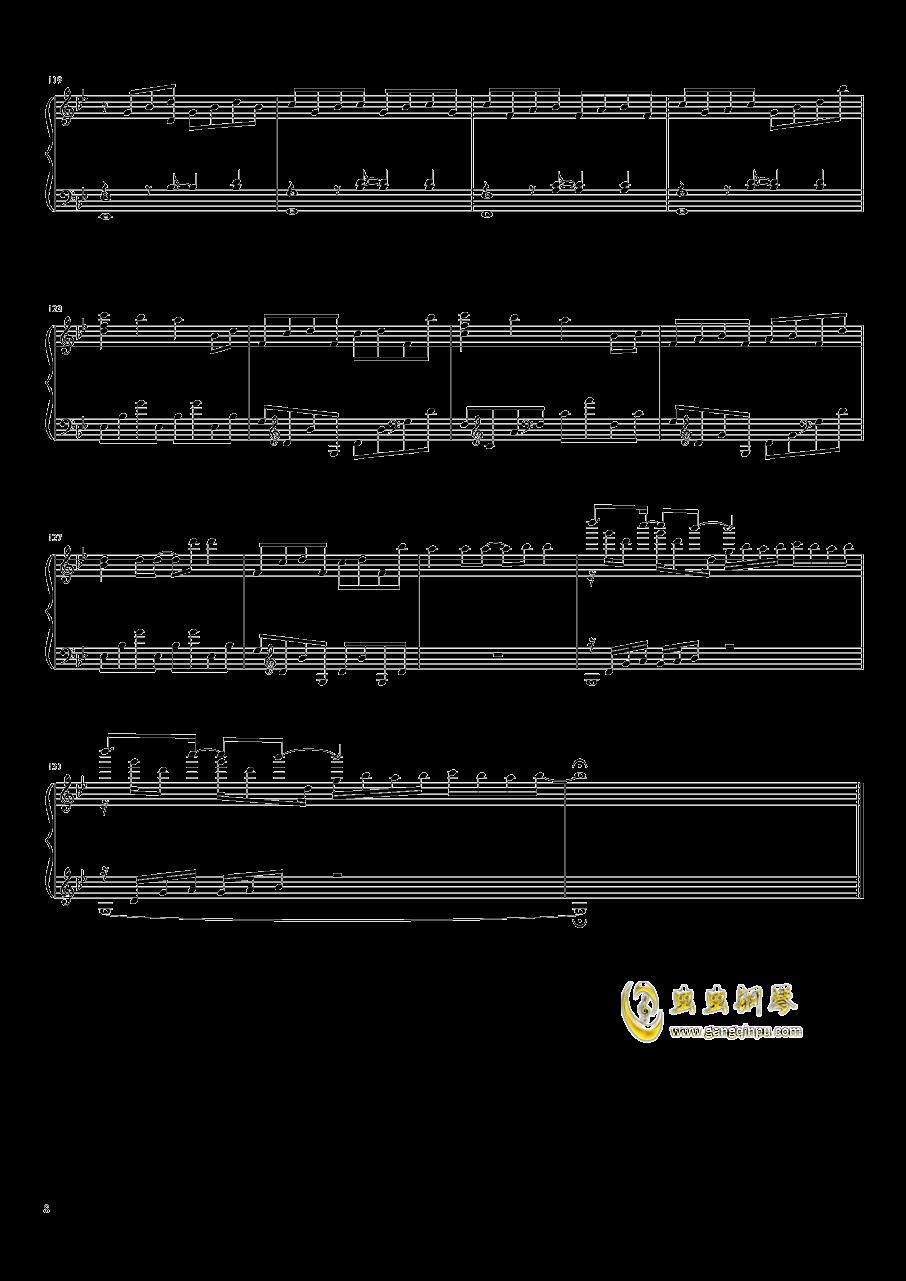 Unravel钢琴谱 第8页