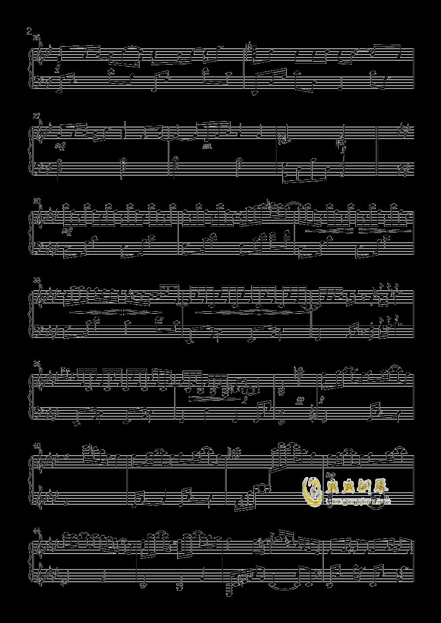 泪的声音钢琴谱 第2页