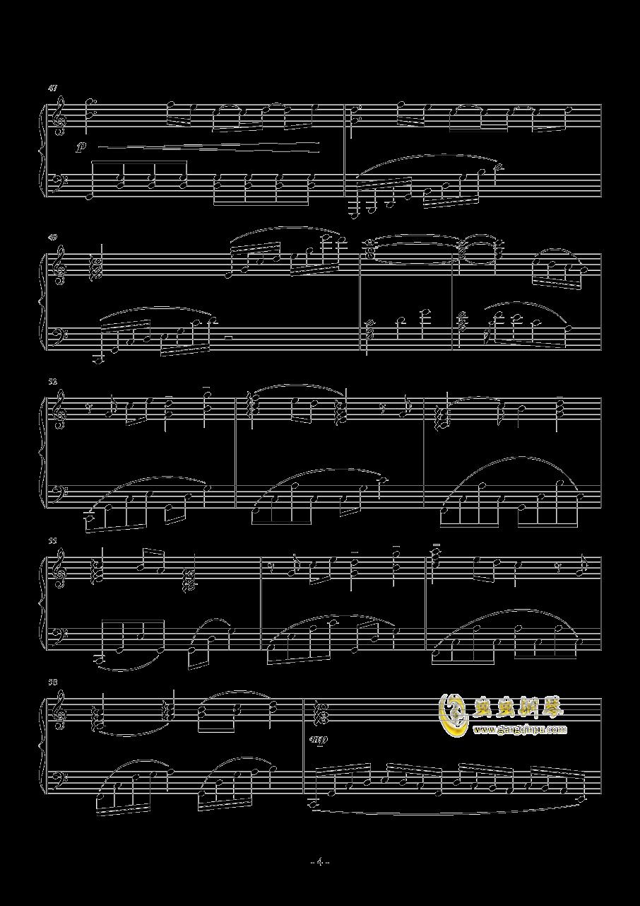 μ's~これから(从今以后)钢琴谱 第4页