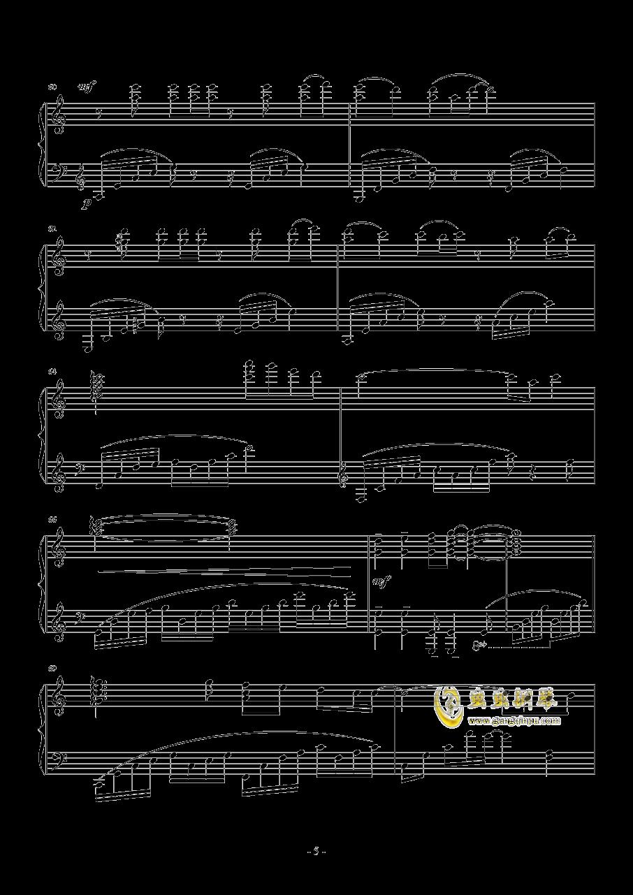 μ's~これから(从今以后)钢琴谱 第5页