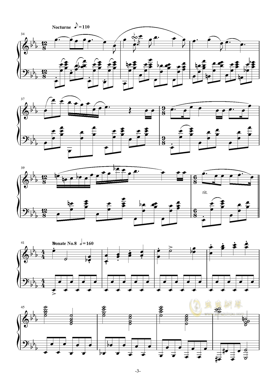 >> 名人名曲 >> 宋叫受 >>改进版《生日快乐》主题古典钢琴串烧