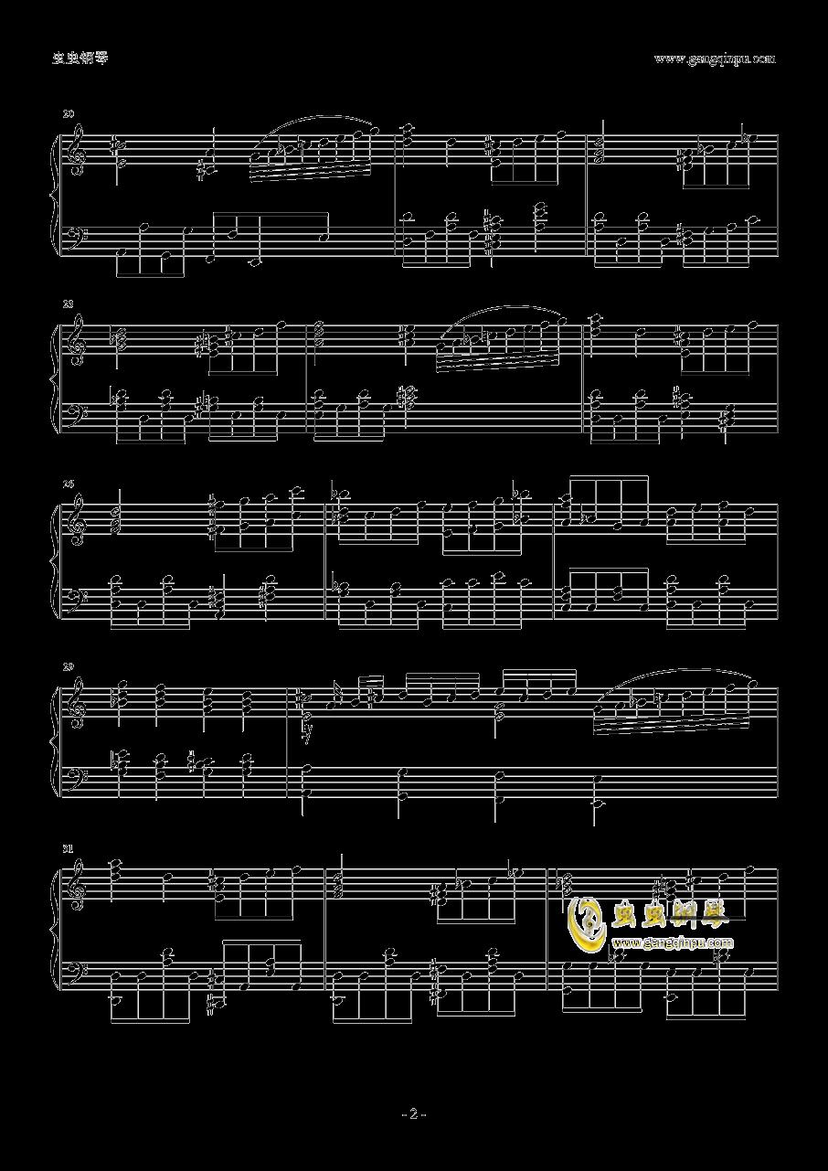 暗杀教室2钢琴谱 第2页