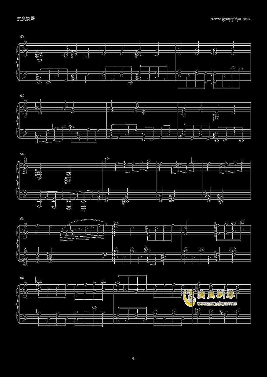 暗杀教室2钢琴谱 第4页