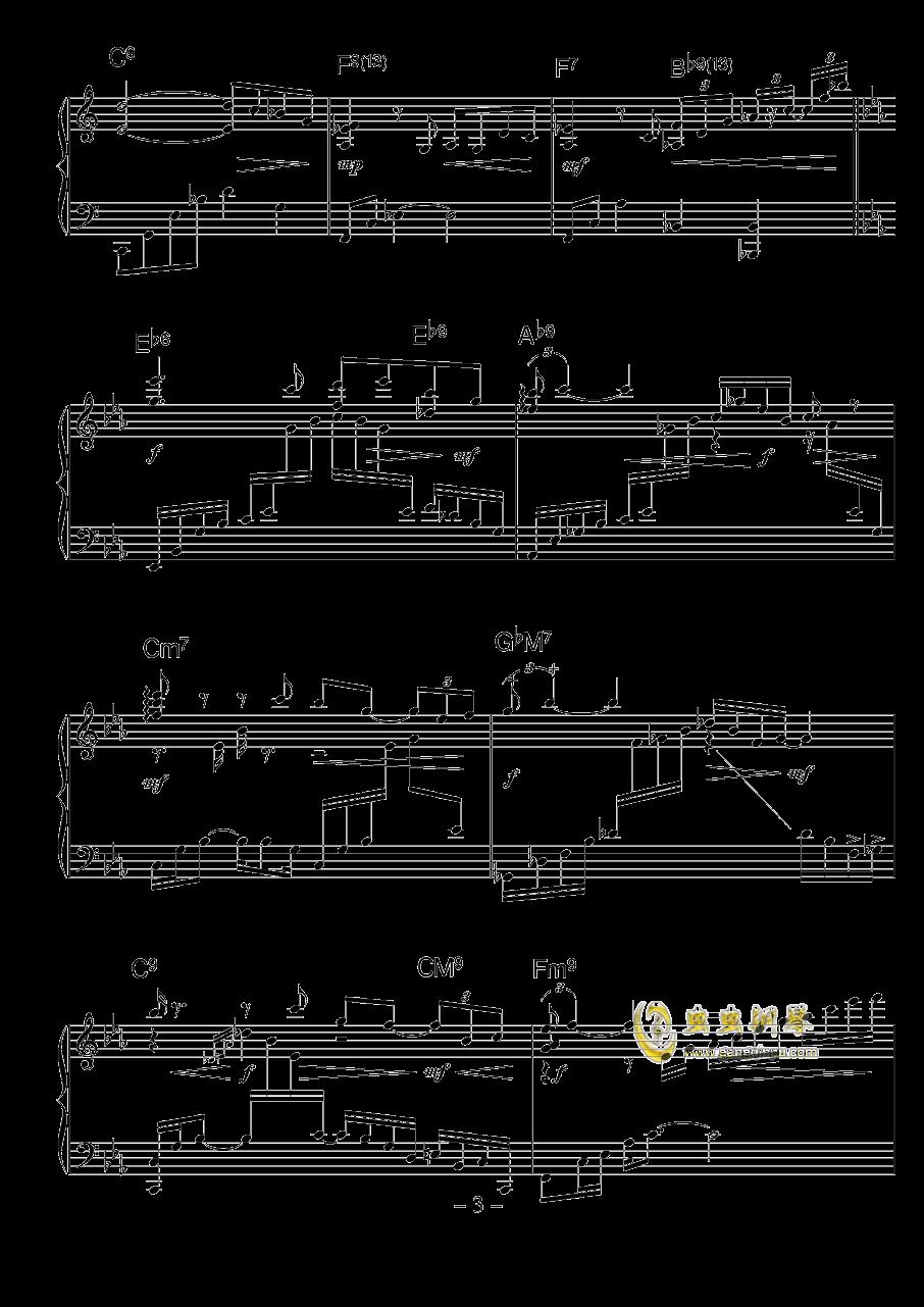 涅槃钢琴谱 第3页