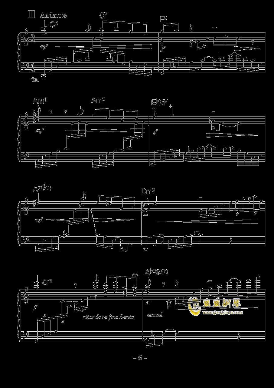 涅��钢琴谱 第6页