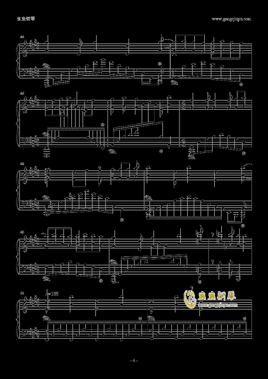 ノ�`ポイッ!钢琴谱 第4页