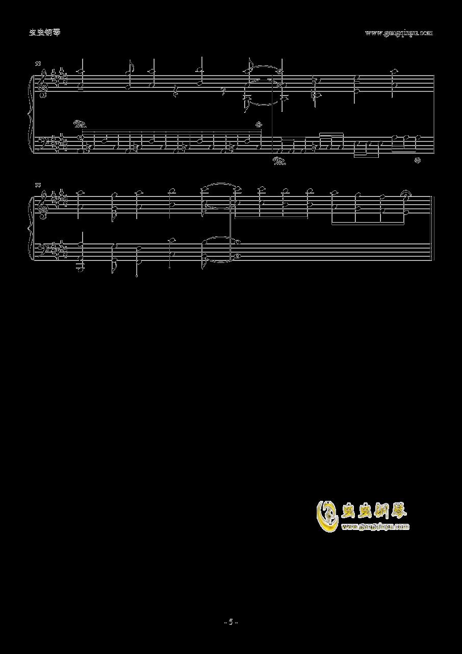 ノ�`ポイッ!钢琴谱 第5页
