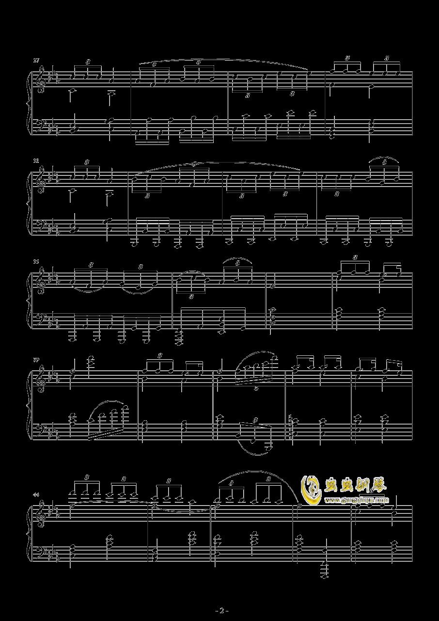 爆乳音头钢琴谱 第2页