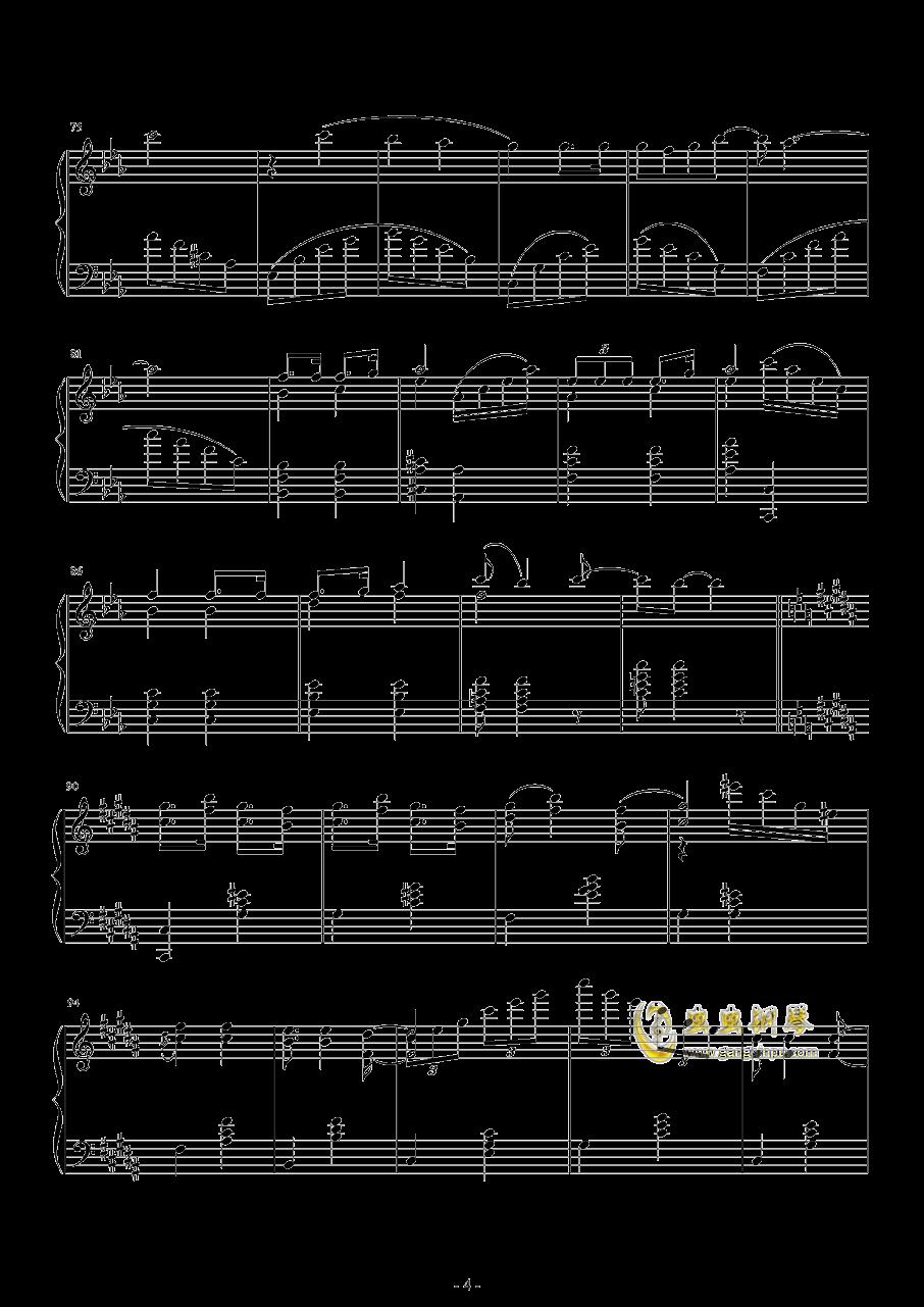 爆乳音头钢琴谱 第4页