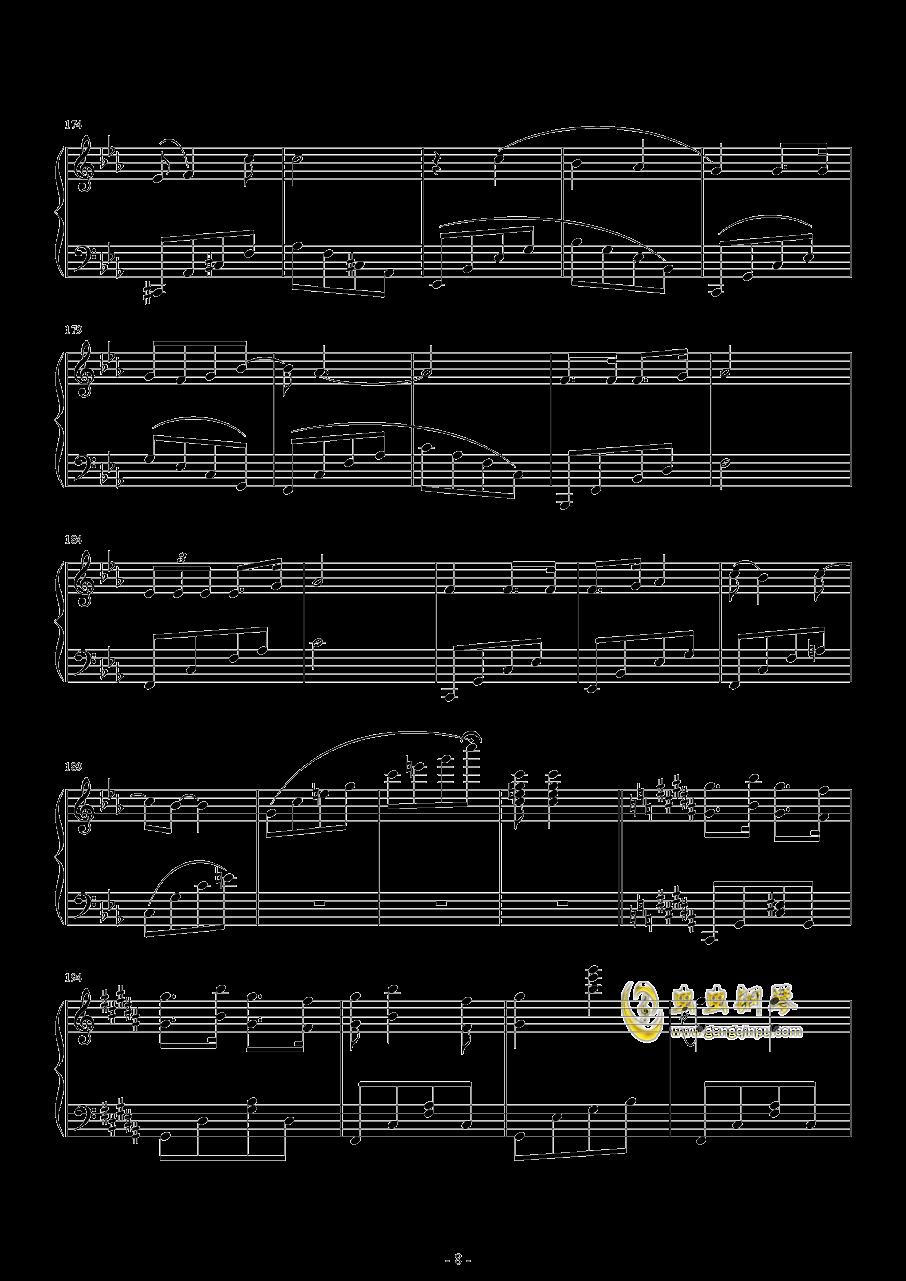 爆乳音头钢琴谱 第8页