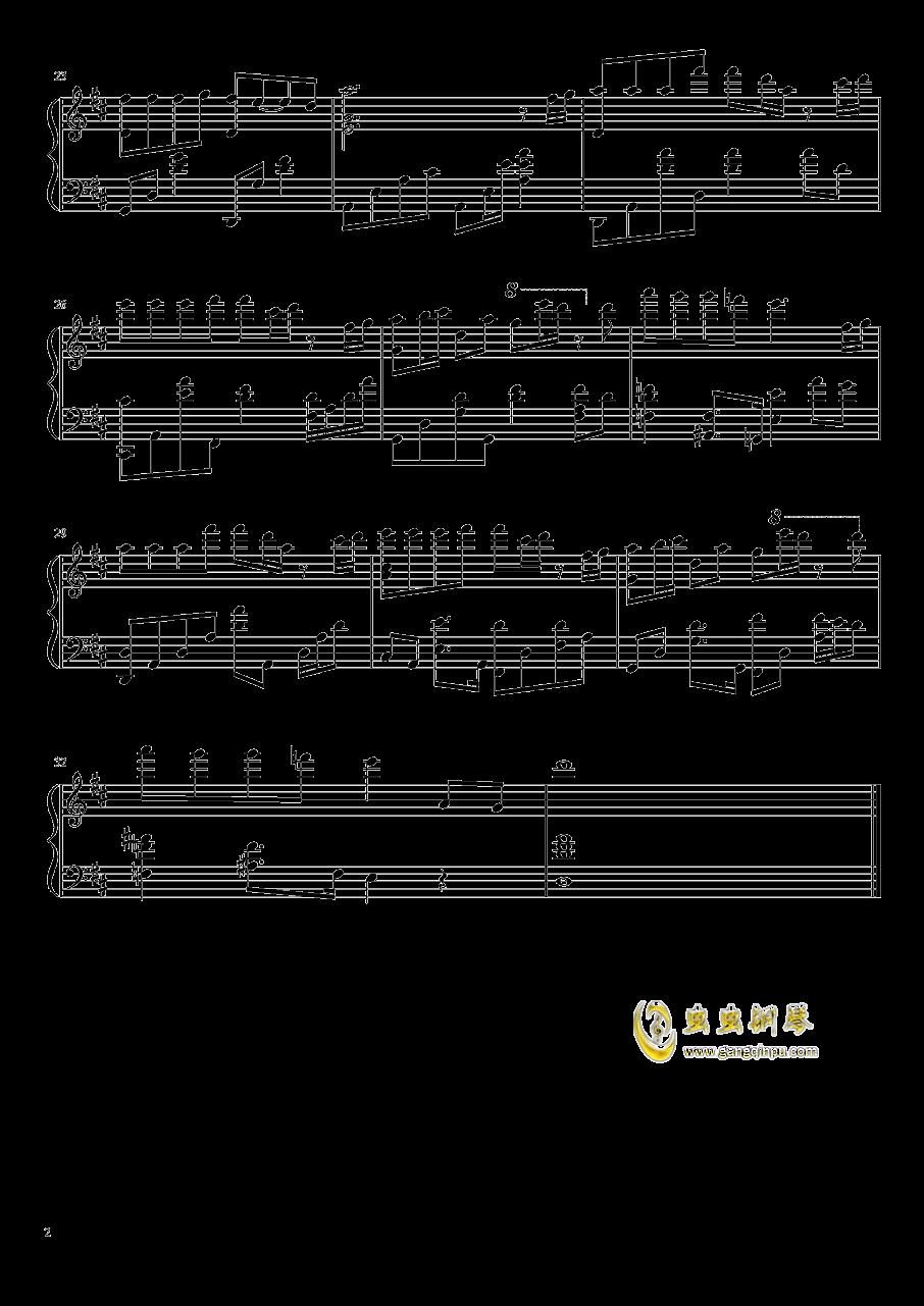 钢琴块钢琴谱 第2页