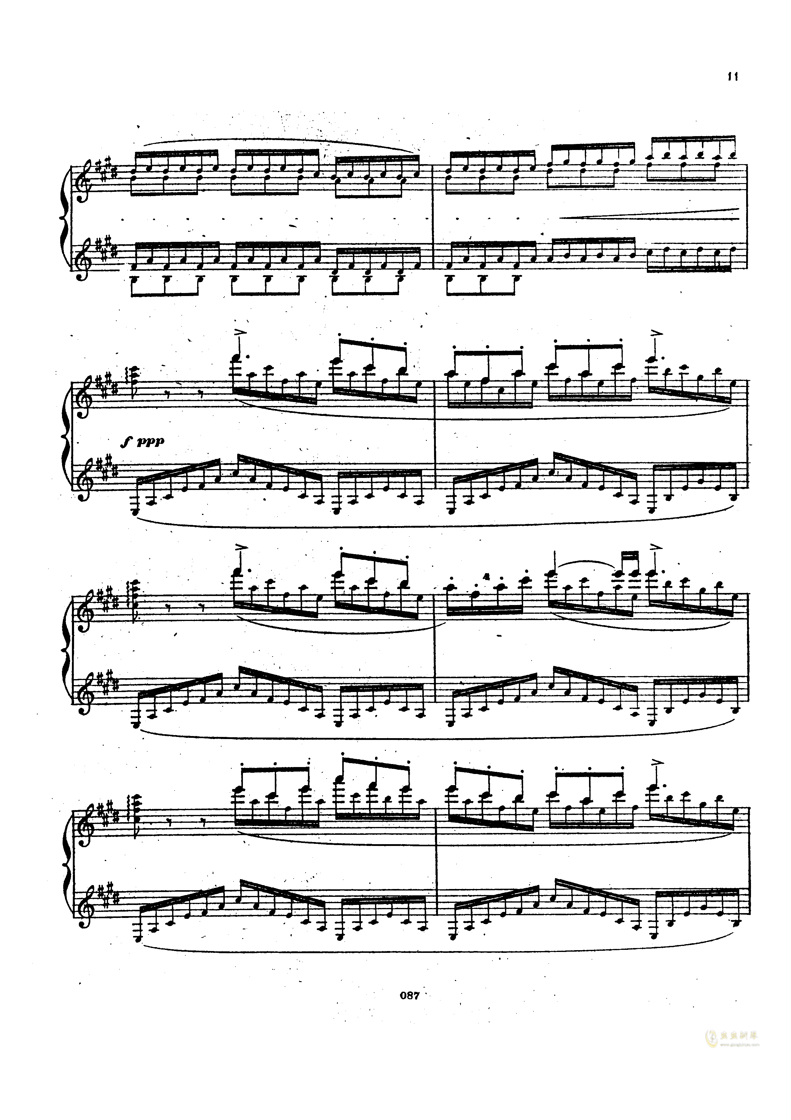 瓦格纳钢琴谱 第10页