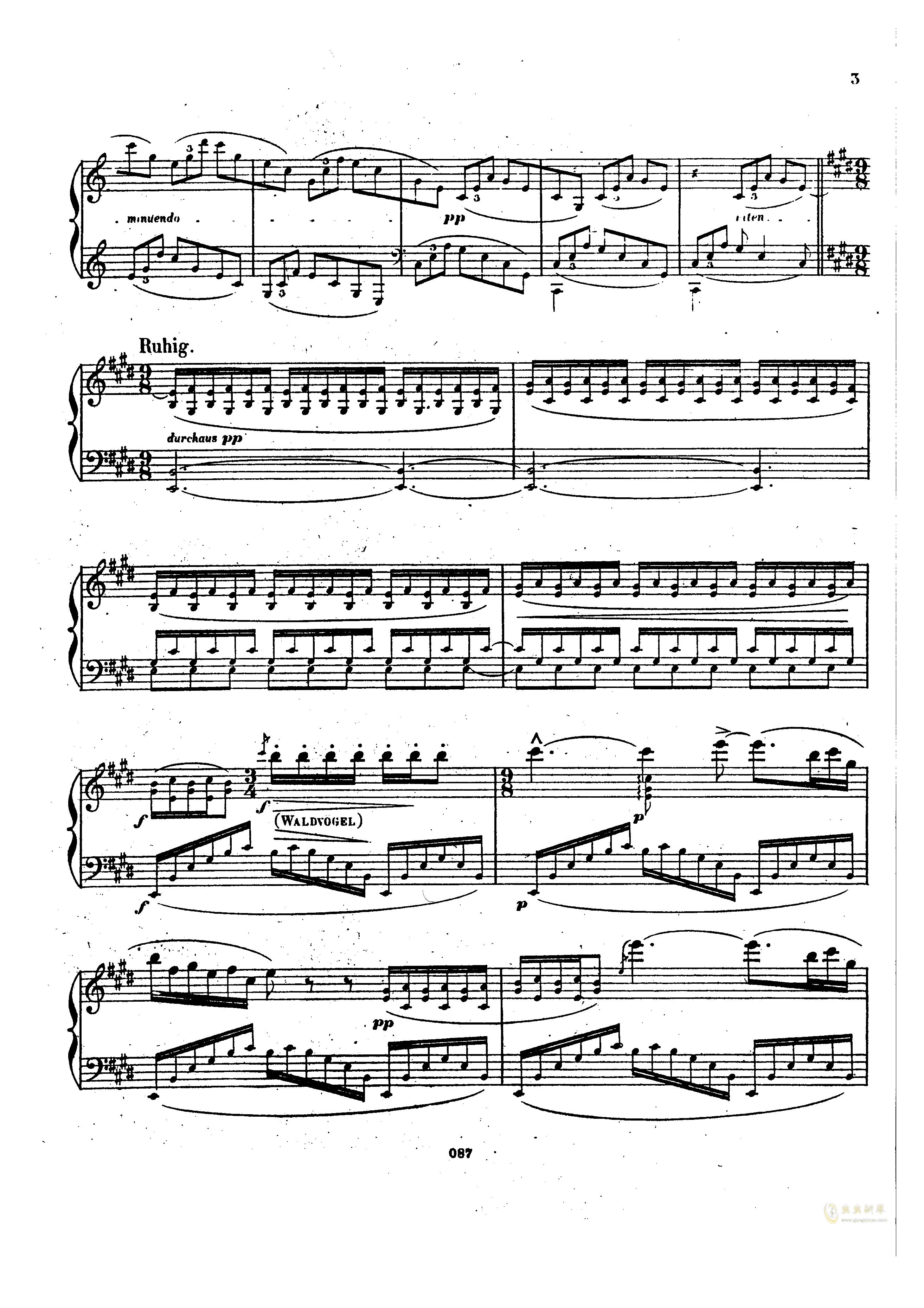 瓦格纳钢琴谱 第2页