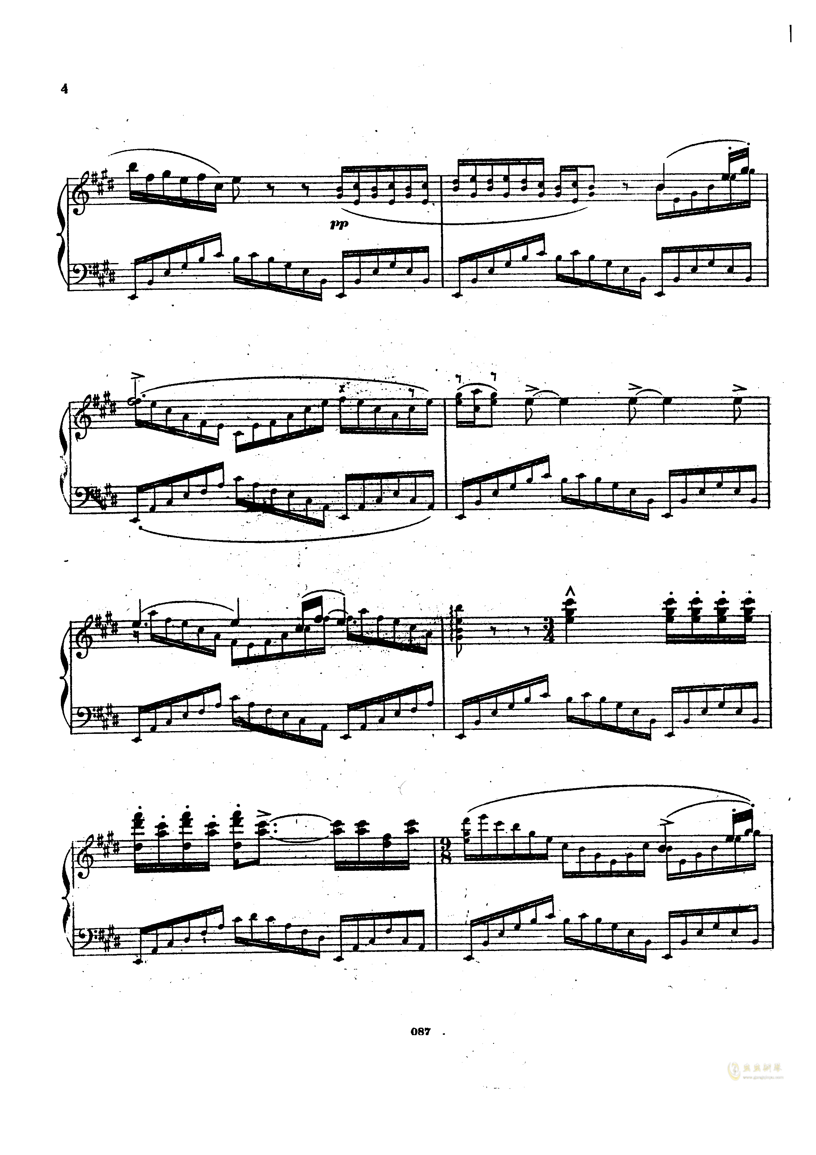 瓦格纳钢琴谱 第3页