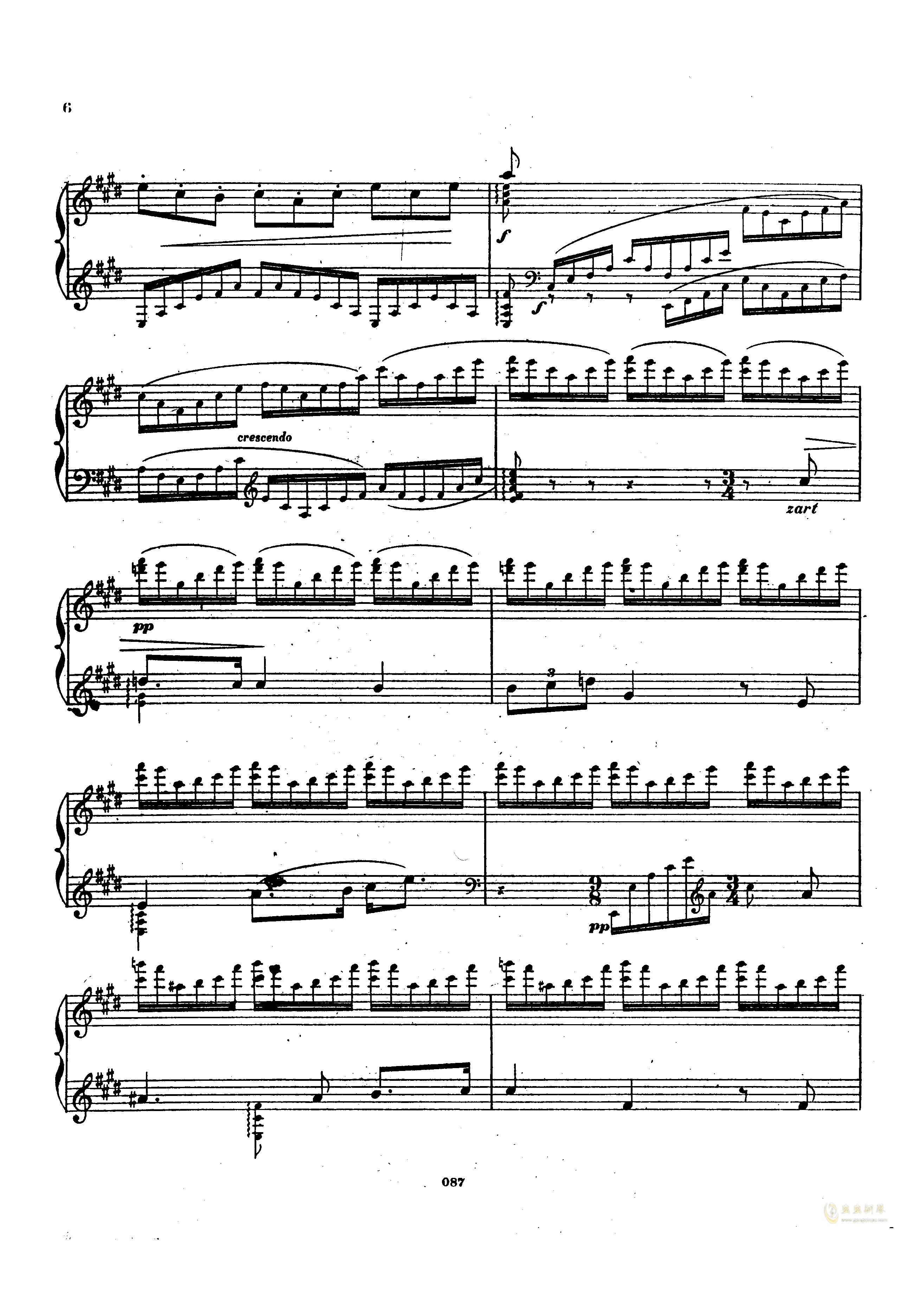 瓦格纳钢琴谱 第5页