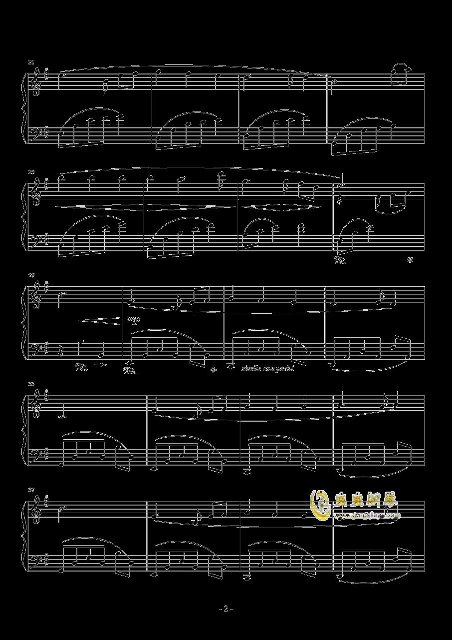 To Zanarkand钢琴谱 第2页