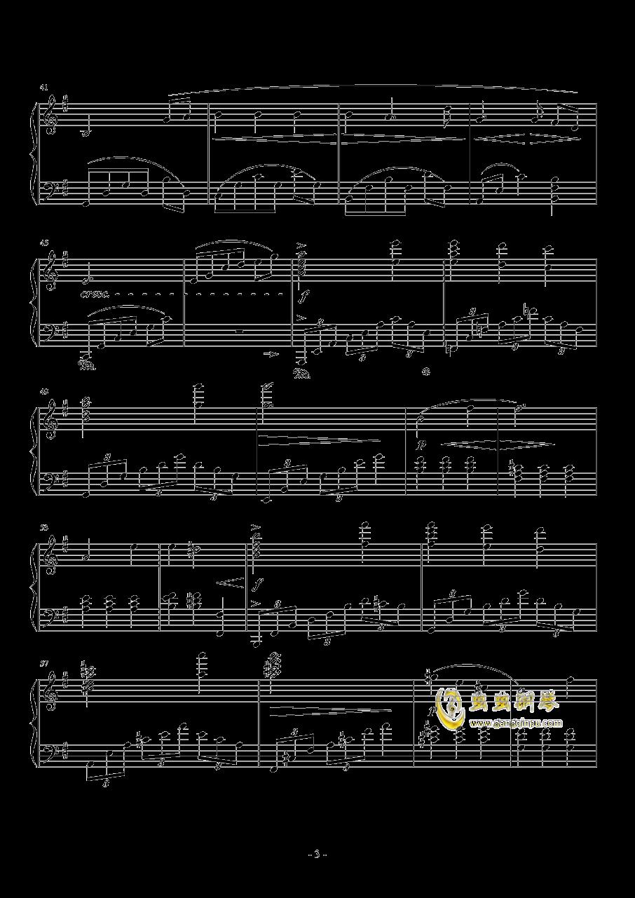 To Zanarkand钢琴谱 第3页
