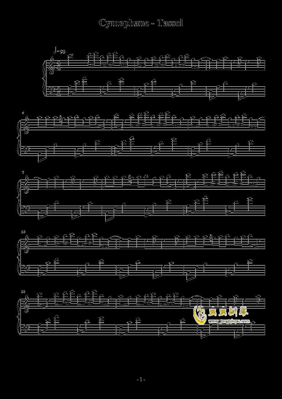 Tassel钢琴谱 第1页
