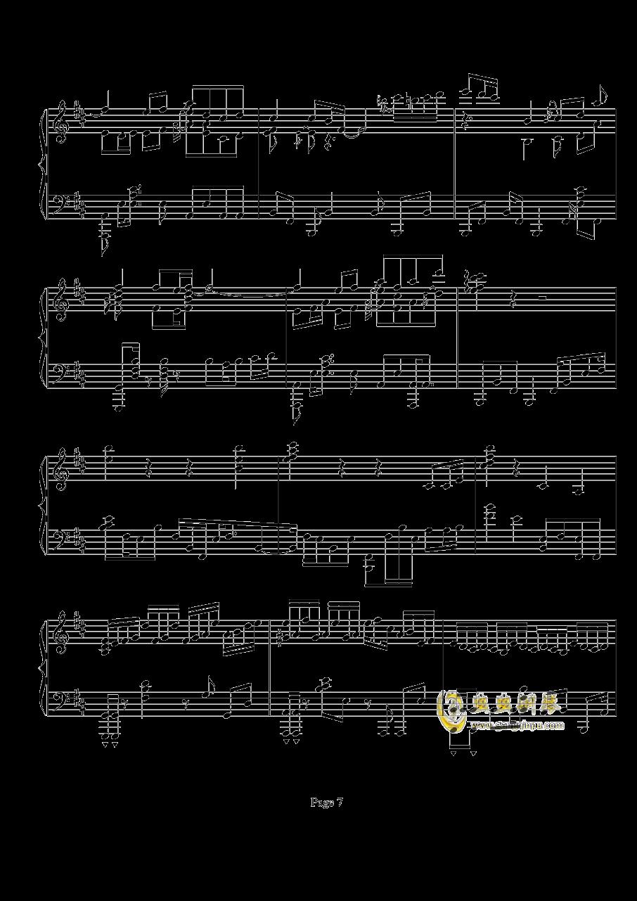 鸟之诗钢琴谱 第7页